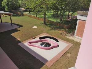 Fontana disegnata da Elena Viappiani